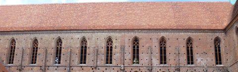 Traditionelle keramische Dachziegel