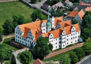 Dachówka karpiówka, Zamek Doberlug-Kierchhain, Niemcy