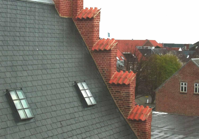 Mnich mniszka Arresthaus, Dania
