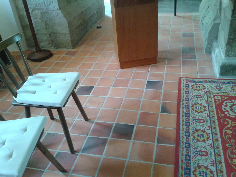 Płytki podłogowe Kościół Eilenstadt, Niemcy