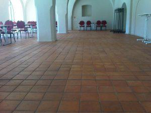 Płytki podłogowe, Zamek Doberlug-Kirchhain, Niemcy